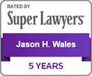 SuperLawyers - Jason Wales - 5 years